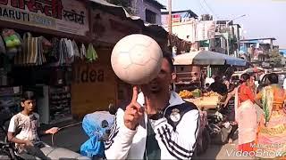 Football skills from streets