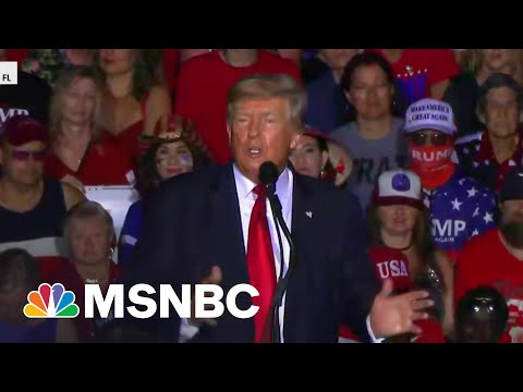 Trump Downplays Company's Tax Charges At Rally | MSNBC