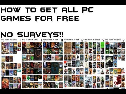 How to get any PC game for free (no surveys)*Voice*HD