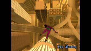 GTA SA ragdoll fall animation test