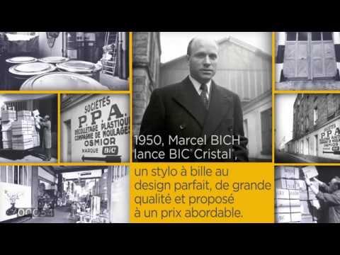 Fabrication du stylo BIC® Cristal®