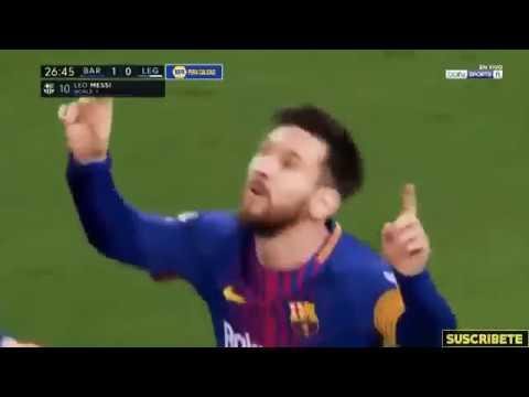 FC BARCELONA vs LEGANÉS 3-1 highlights  7th March 2018