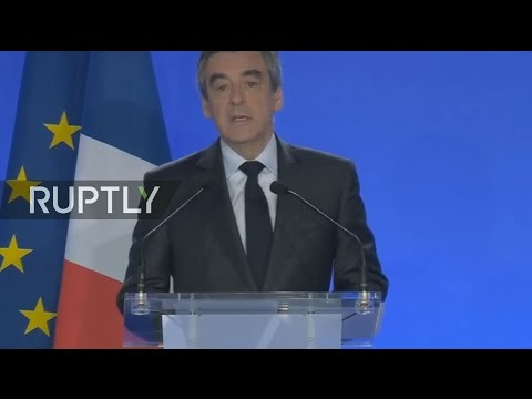 LIVE: Fillon speaks in Paris day after attack on Champs Elysees