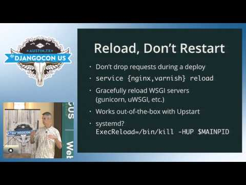 DjangoCon US 2015 - Django Deployments Done Right by Peter Baumgartner