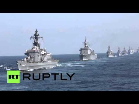 Fleet Review: Japan shows off naval power
