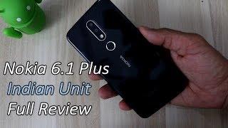 Nokia 6.1 Plus (X6) Indian Unit Full Review !! PUBG Gaming Review , HINDI