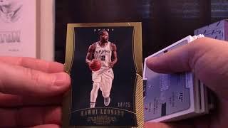 2017/18 Panini Dominion Basketball 3 Box 1/2 Case 'Serial #s' GB # 2