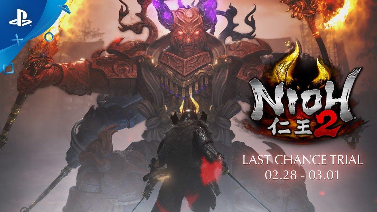 Assistir - Nioh 2 - Trailer de jogabilidade do desenvolvedor   PS4 - online