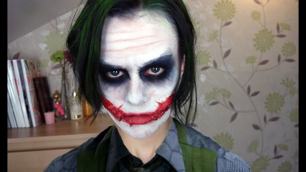 joker makeup tutorial youtube. Black Bedroom Furniture Sets. Home Design Ideas