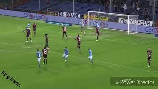 Genoa vs napoli 1-2 Spettacolo nella palude