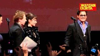 Джонни Дэпп и Пенелопа Крус на премьере 11.05.2011