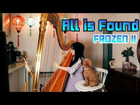 [All Is Found] ''기억의 강'' 자장가 하프로 듣기-겨울왕국 2 OST-엘사/이두나-Evan Rachel Wood (From ''Frozen 2'')Harp Cover