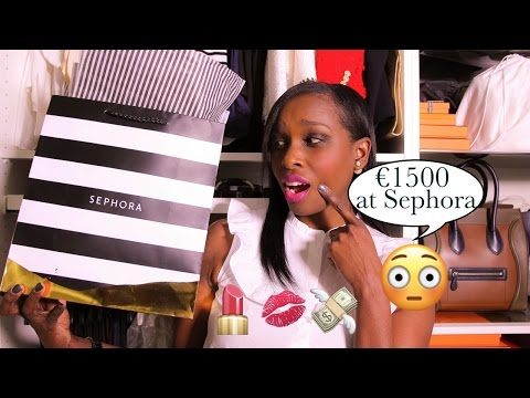 I Spent €1500 Shopping At Sephora. My Biggest Beauty Haul Ever!