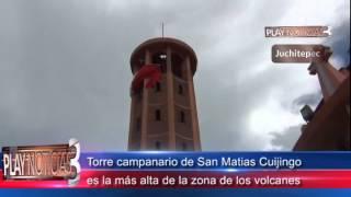 Torre campanario de San Matias Cuijingo