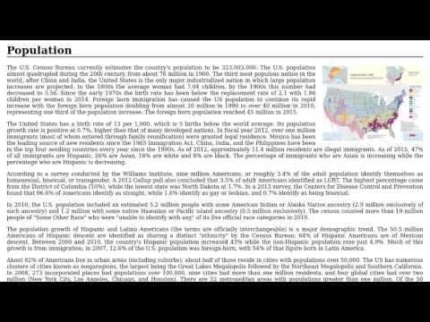United States - Population