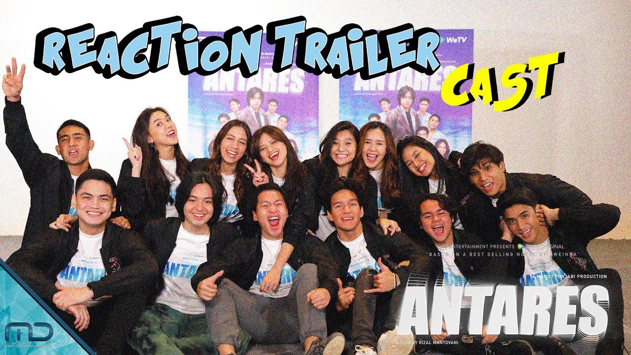 Antares - Reaksi Para Pemain Setelah Nonton Trailer Antares
