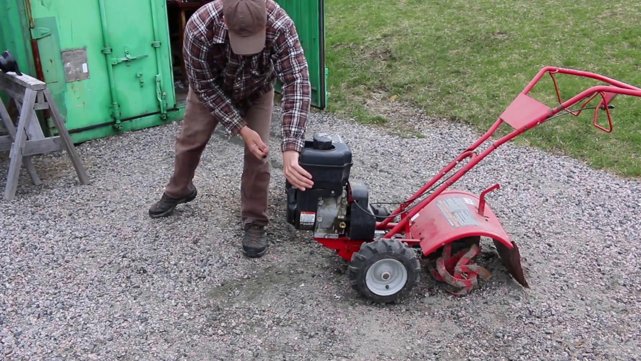 My Tiller Wont Start Youtube Bolens Lawn Mowers Deck Belt Diagram On Makita Tool Parts Diagrams