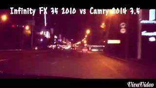 Infinity FX 35 vs Camry 3.5