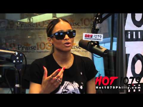 Ciara talks her love for Future and Her NON- Friendship with Rihanna on The Qdeezy Show