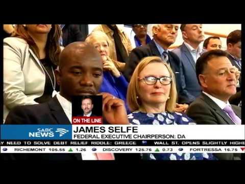 James Selfe confirms Zille's suspension