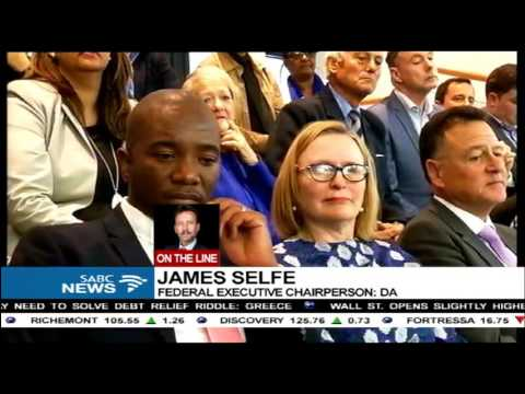 James Selfe confirms Zille
