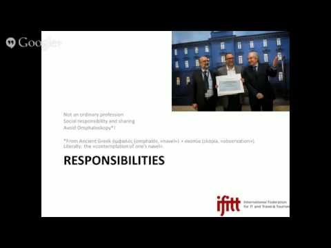 ONLINE KEYNOTE: Doing a PhD in eTourism: opportunities, challenges, and responsibilities