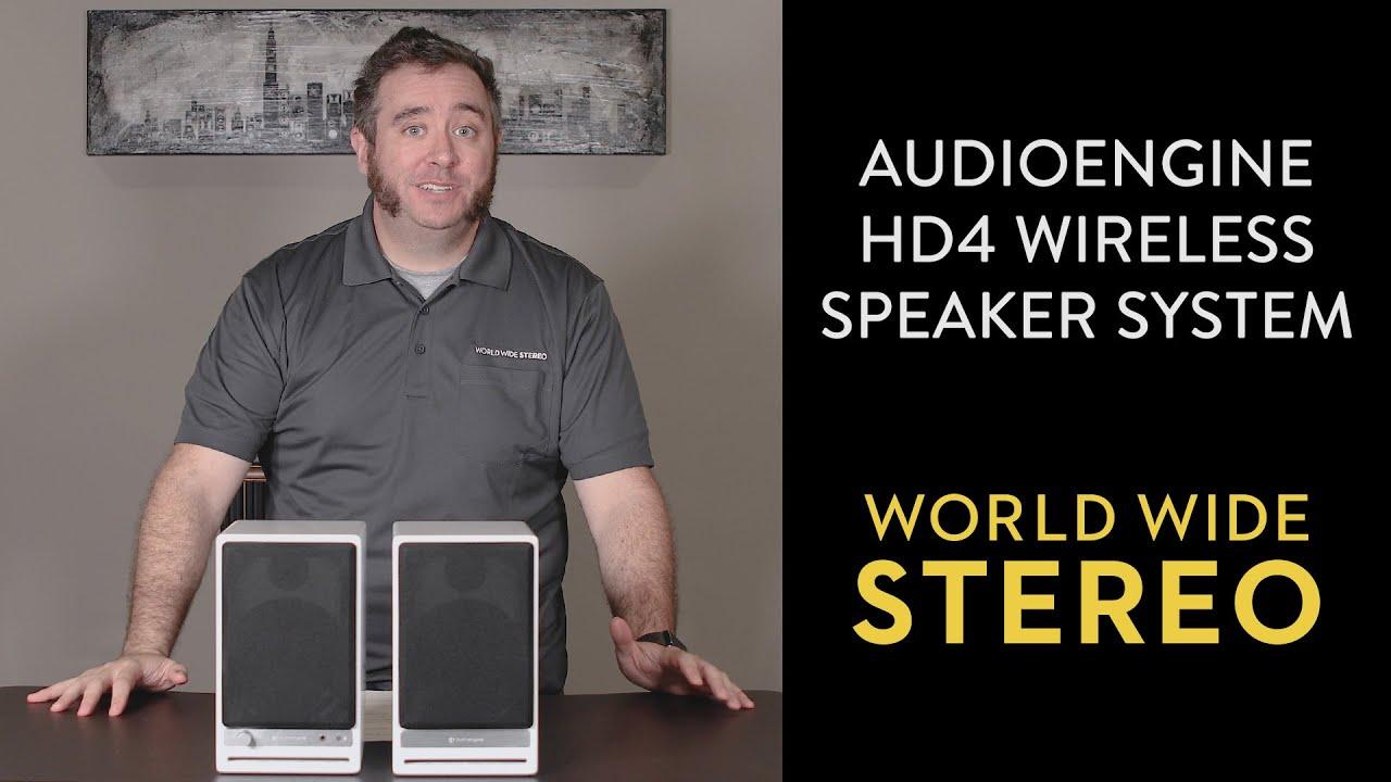 Download Audioengine HD4 Speaker System (Bluetooth APTX-HD) Review