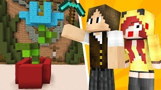 Minecraft: QUASE UM BUILD BATTLE COM A CHERRY!!!