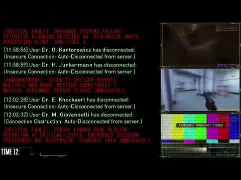 Black Mesa Incident - A Streaming Log Of Cellular & Distress Transmissions