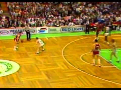 NBA 1985-86 Playoffs R1 Game 1 bulls vs celtics