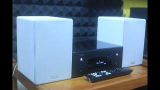 Dàn mini Denon N10 đẹp như mới full tính năng Bluetooth + Airplay 2 + USB DSD + CD + Quang IN