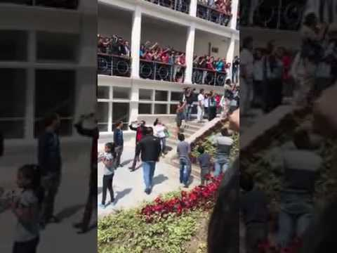 #1Marz Adan Chavez en un centro comercial de Mérida