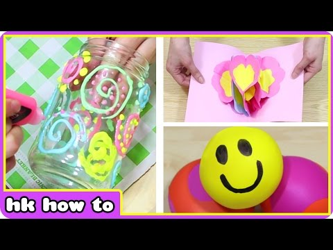 DIY Ideas To Do When Bored At Home | HooplaKidz How To