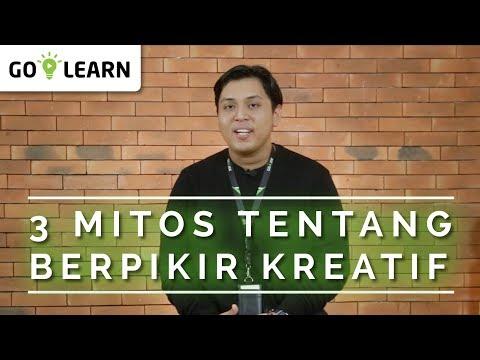 ▸▸ 3 MITOS TENTANG BERPIKIR KREATIF // Tedo Esmu Ziraga 💡 GO-LEARN