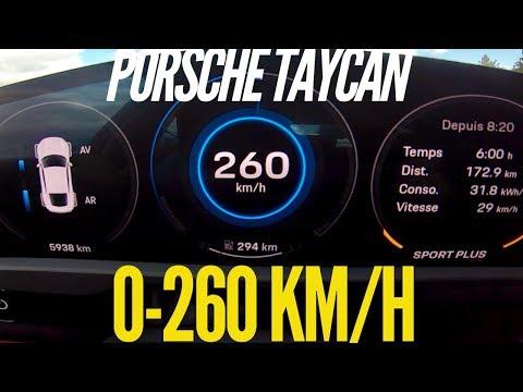 Porsche Taycan Turbo S Vs Tesla Model S P100D: 0-250 KM/H Times