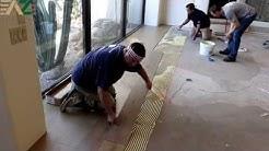 Bona 851 Adhesive Demo with Arizona Hardwood Floor Supply Zero VOC