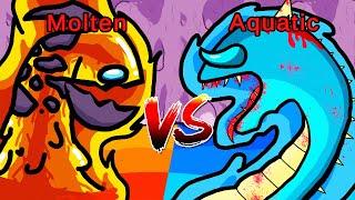 MOLTEN vs AQUATIC (Among Us)