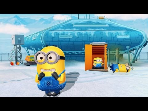 Despicable Me 2: Minion Rush The Arctic Base Part 21