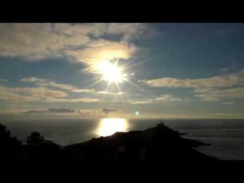 Sunrise Over Mumbles Head, Swansea Bay, Wales