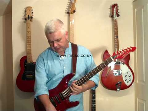 review of the aria mac 50 electric guitar youtube. Black Bedroom Furniture Sets. Home Design Ideas