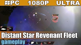 Distant Star Revenant Fleet gameplay HD - Rogue-Like Space RTS - [PC - 1080p]