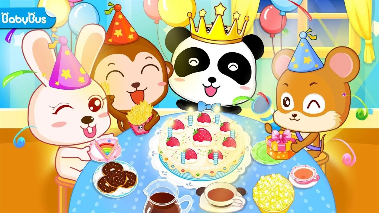 Baby Pandas Birthday Party Let Children Organize Their