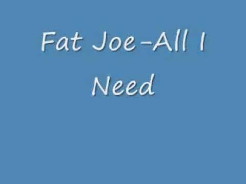 Fat Joe All I Need