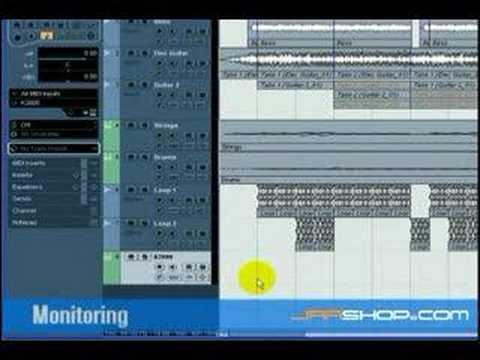 Cubase 4 Tutorial: External MIDI Instrument