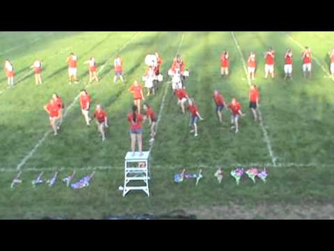 Sayre Marching Redskins