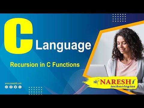 Recursion in C Functions | C Language Tutorial