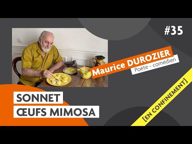 Les sonnets du comédien Maurice Durozier : oeufs mimosa