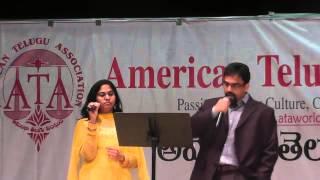 Prabhakar Kota and Ramya sing