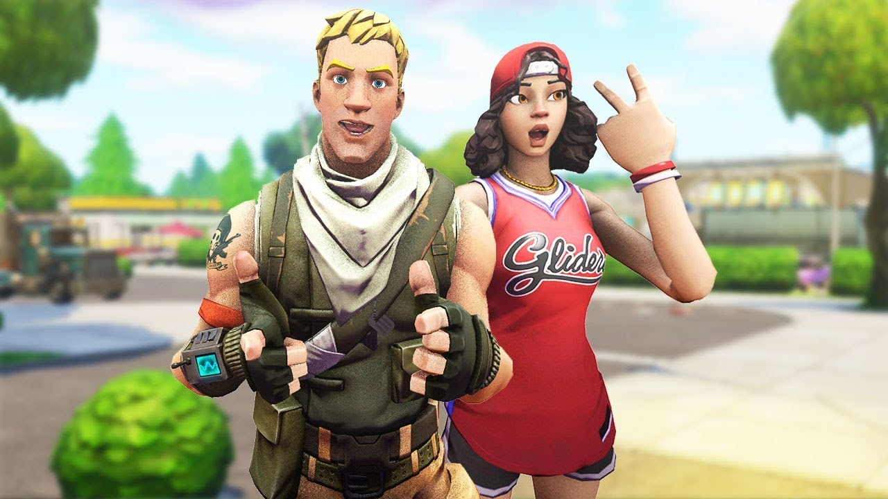 THE DYNAMIC FORTNITE DUO