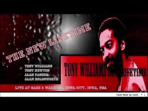 New Tony Williams Lifetime- Gabe & Walkers Iowa City, Iowa 3/3/76